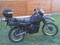 HONDA - XR600   1987